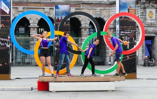 Olympische ringen vs BVAC