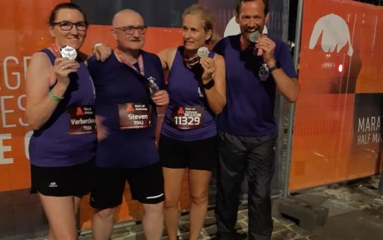 Beerschot was op de Antwerp Night Marathon