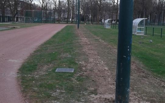 Antwerpen Zuid heeft behoefte aan een degelijke atletiekpiste