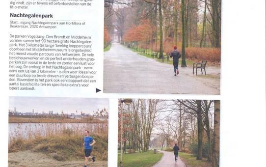 Leo Van Velthoven werkte mee aan de publicatie van Mastvest loopparcours