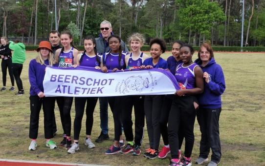 BVV Cadetten - Scholieren Meisjes 4 mei 2019