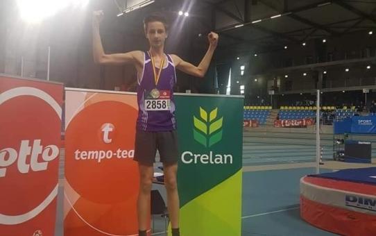 Belgisch kampioen in onze rangen op G-indoor Athletics + BK AMH Indoor - 8 december 2019 te Gent